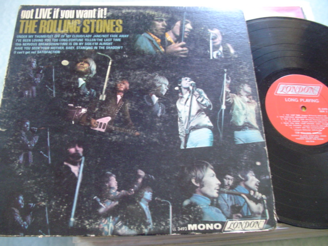 ROLLING STONES - GOT LIVE - LONDON MONO LL 3493